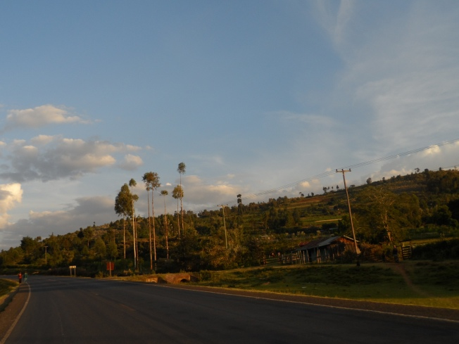 Bomet was the most beautiful town we went through - or so we thought!
