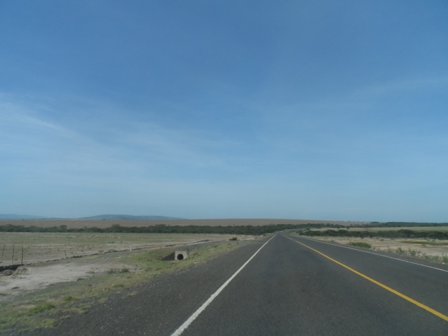 Clear road ahead. Nairobi. Narok. Kisii