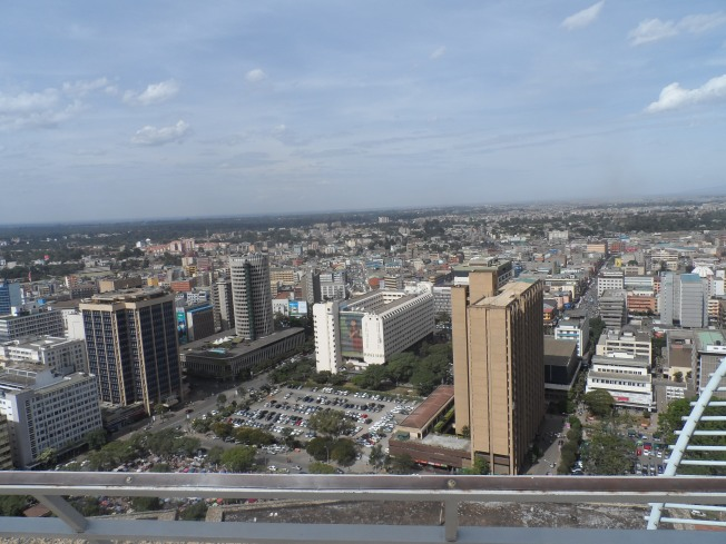 Nairobi's Central Business District