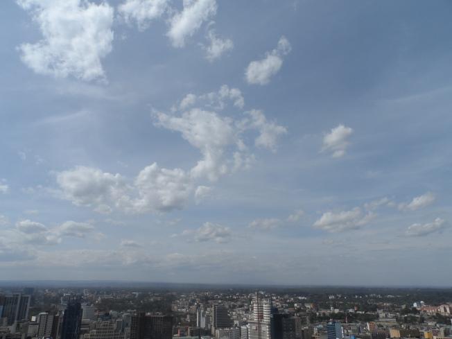 Nairobi Skyline.....