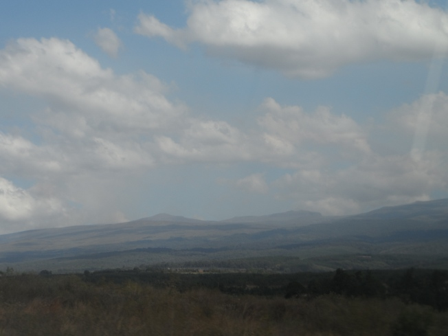 Beautiful scenic hills