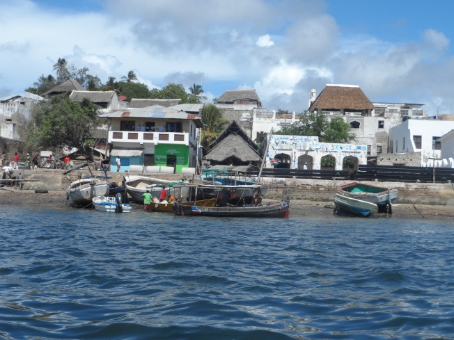 Some of the structures in Lamu Town