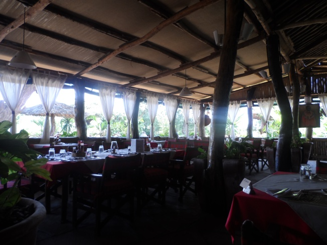Kibo Restaurant area - Inside view