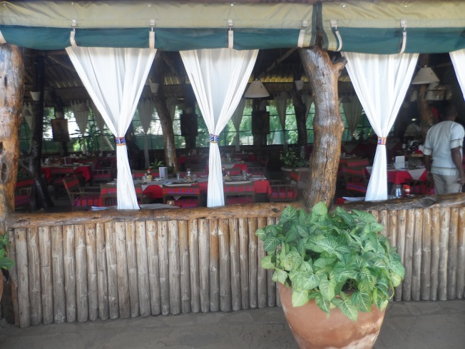 Kibo Restaurant area - Outside view