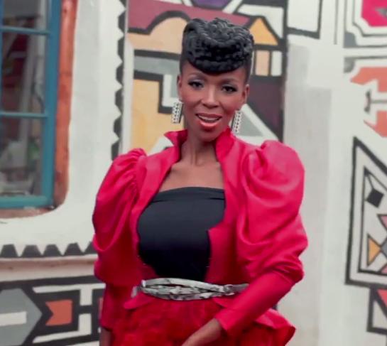 Nhanla Nciza's Hairstyle