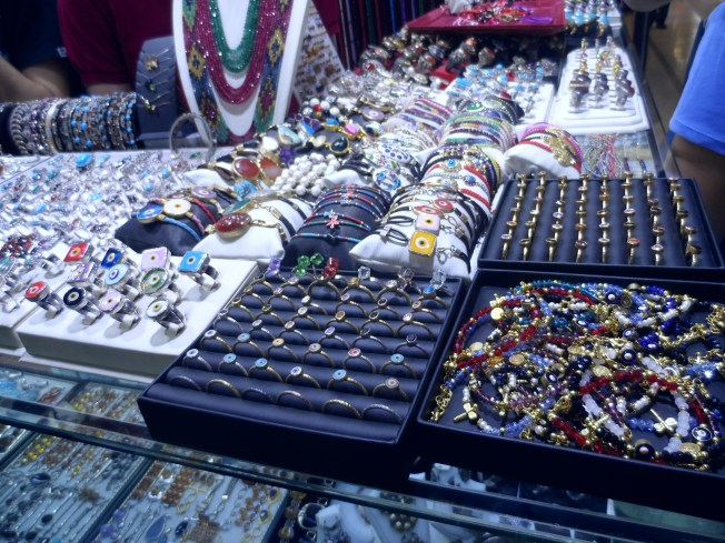 Trinkets at the Grand Bazaar