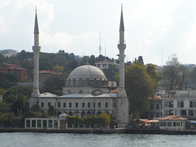 One of the 3,000 mosques in Instanbul