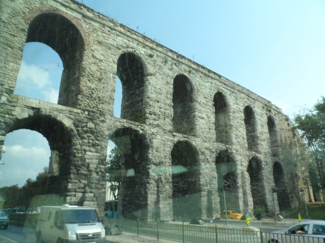 Old structures in Istanbul that have been preserved even with modern development