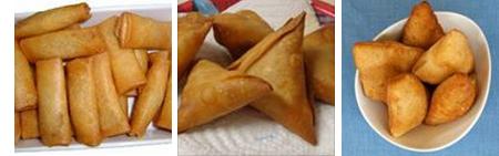 Snacks that were advertised on Soko Kuu....