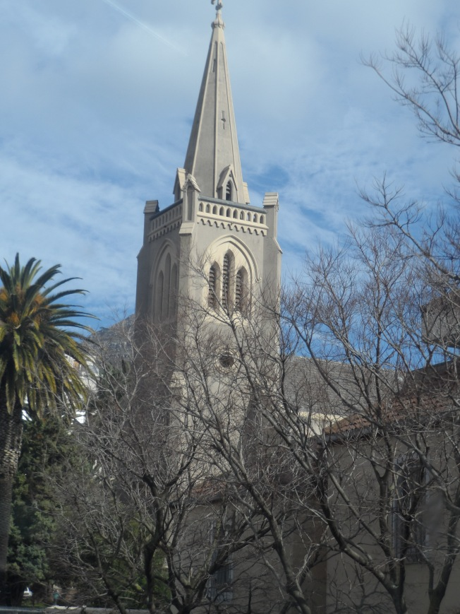 A peep of St. George's Cathedral - Desmond Tutu's church