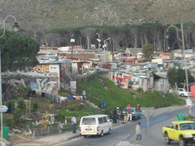 A glimpse of Imizamo Yethu township
