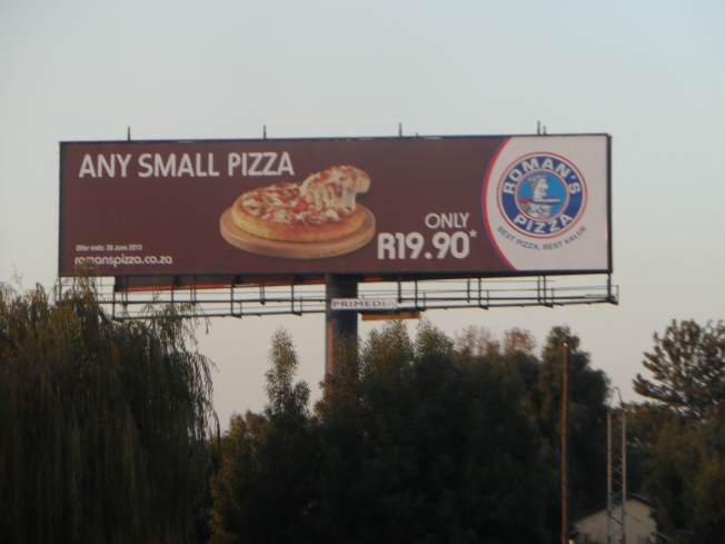 I still get so upset when I see the prices of food in SA. 2 Soc for a small pizza. In Kenya, it is normally more than double that price. And that is why I will never EAT at KFC or buy clothes from Mr. Price /  Woolworths / Truworths in Kenya. Their prices are RIDICULOUS. Double or Triple the original price.