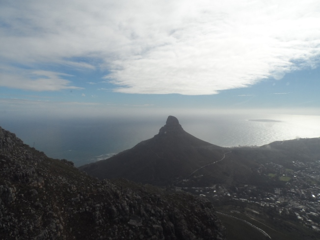 A view of Lion's Head from the Cable Car
