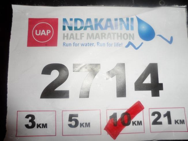 Ndakaini Marathon!