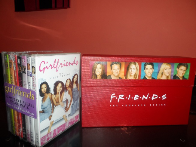 Woohoo!! My nights are made! My favourite series in the whole wide world.  Friends and Girlfriends. I can't wait to watch these. I have made a pact with myself not to laugh - I must be strong! :-)