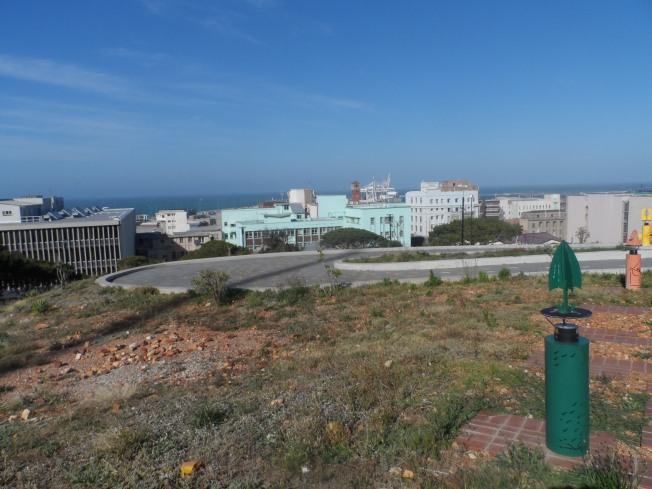 An overview of the skyline of Port Elizabeth town