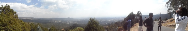 Scenery from Entoto Hill