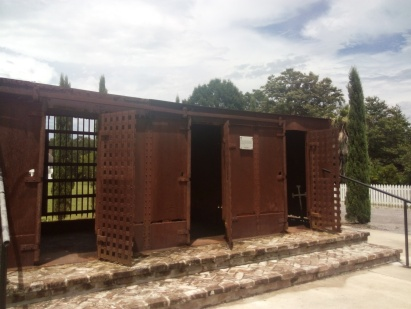 Slaves were kept in these spaces before being allocated a house